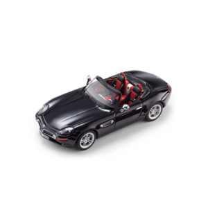 BMW Z8 Cabrio (E52) Miniatur 1:43 carbon schwarz
