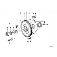 Sechskantschraube M10X17,5 3er 5er 7er 8er X3 X... 7x Original BMW 24001421067
