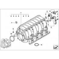 Hutmutter M7//M5 5er 6er 7er X5 Original BMW 11127568835