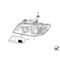 Halter Scheinwerferarm links 3er Original BMW 51117148179