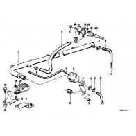 Auspuffträger 3er 5er Z3 Original BMW 18301728459