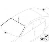 Original BMW 51317258053 Abdeckung Frontscheibe oben 3er