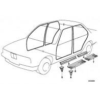 Antenne passend für BMW 2er Cabrio F23  Ersatzstrahler Kurzstabantenne 83mm