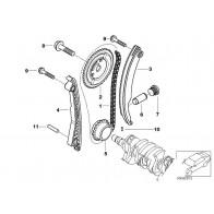 Original BMW 11317700404 Kettenspanner//Schraube