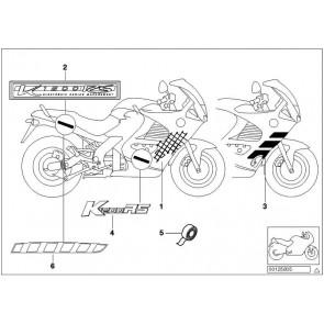 Abziehbild K1200RS SW/SI   K41 K589  (52532309644)