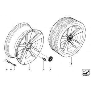 """Nachrüstsatz Radlaufverbreiterung 21""""  X5 X6  (51710007390)"""