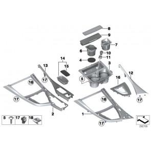 Ablageschale Cupholder Fahrerseite  1er  (51169257209)