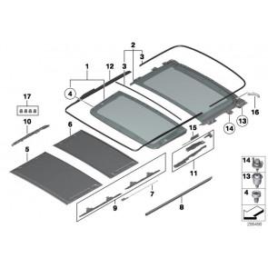 Dichtung Rahmen Panoramadach (54107304483)