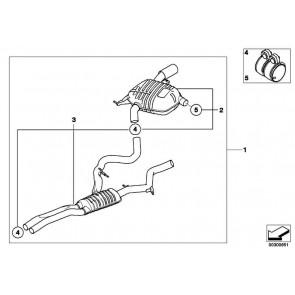 Schalldämpfer-System BMW PERFORMANCE 3er  (18102208800)