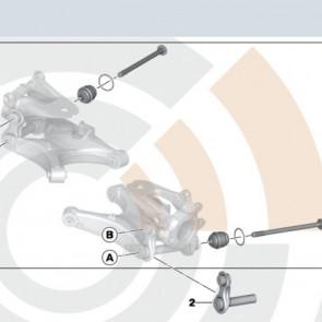 BMW Kugelgelenk Reparatursatz 5er E60 E61 6er E63 E64