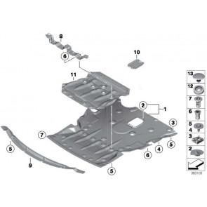 Absorber Motorraumabschirmung 2WD 1er 2er 3er 4er  (51717376342)