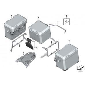 Aluminium-Topcase schwarz (77432455447)
