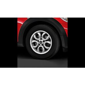 MINI Alufelge 5 Hole Circular Spoke R123 6,5J x 16 ET 46 Silber Vorderachse / Hinterachse BMW MINI R60 R61