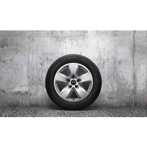 MINI Alufelge 5-Star Air Spoke MINIMALISM silber 7J x 16 ET 50 Vorderachse / Hinterachse MINI R60 R61