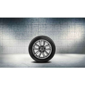 MINI Alufelge 5 Star Double Spoke R124 anthrazit 7J x 17 ET 50 Vorderachse / Hinterachse R60 R61