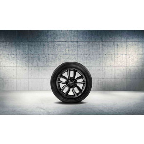 MINI Alufelge 5 Star Double Spoke R124 schwarz 7J x 17 ET 50 Vorderachse / Hinterachse R60 R61