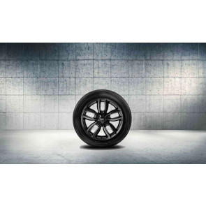 MINI Winterkompletträder 5 Star Double Spoke R124 schwarz 17 Zoll R60 R61