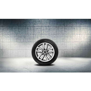 MINI Alufelge 5 Star Double Spoke R124 silber 7J x 17 ET 50 Vorderachse / Hinterachse R60 R61