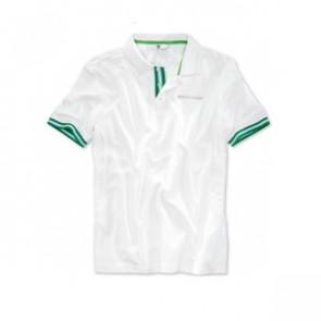 BMW Golfsport Poloshirt Herren uni weiß