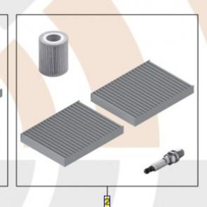 BMW Inspektion I Service Kit 5er E39