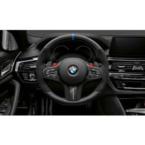 BMW M Performance Lenkrad Abdeckung Alcantara / Carbon 5er G30 G31 6er G32 7er G12 X3 G01 X4 G02