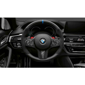 BMW M Performance Lenkrad Abdeckung Leder / Carbon 5er G30 G31 M5 F90 6er G32 7er G11 G12 X3 G01 X3M F97 X4 G02 X4M F98