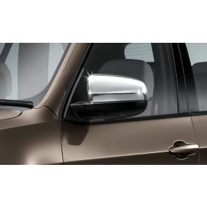 BMW Außenspiegelkappen Alu satiniert für X5 E70 X6 E71