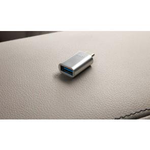BMW Adapter für USB-C-Stecker auf USB-A-Buchse 1er F40 2er F45 F46 3er G20 G21 7er G11 LCI G12 LCI 8er G14 G15 G16 X1 F48 LCI X2 F39 X3 G01 X4 G02 X5 G05 X6 G06 X7 G07