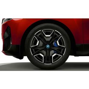 BMW Alufelge Aerodynamik 1020 schwarz II 9,5J x 22 ET 37 Vorderachse / Hinterachse iX i20