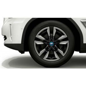 BMW Alufelge Aerodynamik 842 jet black uni 7,5J x 19 ET 32 Vorderachse / Hinterachse X3 G01 X4 G02