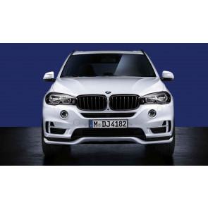 BMW Aerodynamik Frontaufsatz schwarz-matt X5 F15 ohne PDC vorne