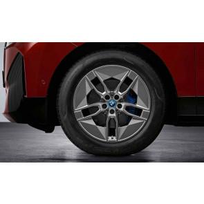 BMW Alufelge Aerodynamik 1002 lightning grey 8,5J x 20 ET 28 Vorderachse / Hinterachse iX i20