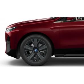 BMW Winterkompletträder Aerodynamikrad 1011 jet black uni 21 Zoll iX i20 RDCi