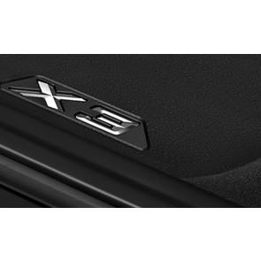 BMW Allwetter Fußmatten hinten X3 G01 X3M F97 iX3 G08 BEV