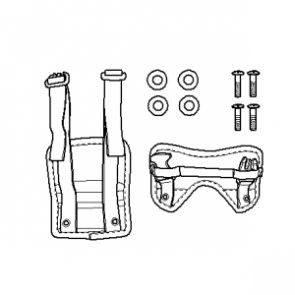 Anbindung Tankrucksack klein