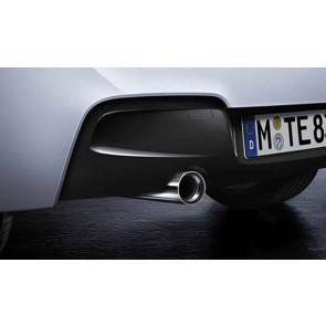 BMW Auspuffrohrblende chrom 55x65 mm 3er E46 328i
