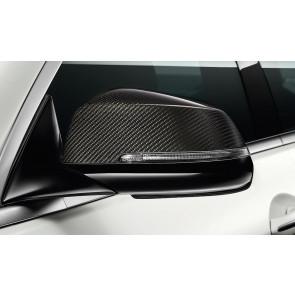 BMW M Performance Außenspiegelkappe Carbon 5er F07 F10 F11 6er F06 F12 F13 7er F01 F02 F04 mit Spurwechselwarnung