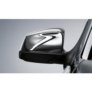 BMW Außenspiegelkappen Chrom für 5er E60 E61 F07GT F10 F11 6er E63 E64 F06 F12 F13 7er F01 F02 F04 bis 03/2015