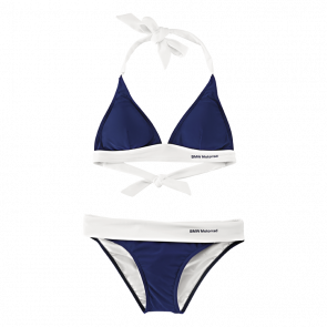 BMW Bikini Logo, blau/weiß