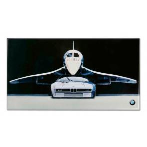 BMW Blechschild