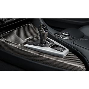 BMW M Performance Blende Gangwahlschalter-Knauf Carbon für Doppelkupplungsgetriebe 3er M F80 4er M F82 F83 5er M F10 6er M F06GC F12 F13 X5 M F85 X6 M F86