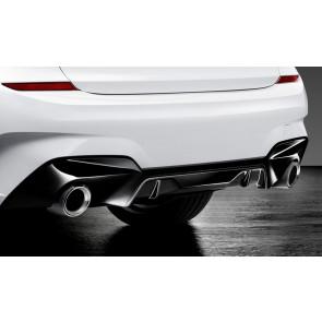 BMW M Performance Blende Stoßfänger hinten 3er G20 G21