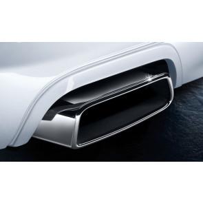 BMW M Performance Satz Blenden Stoßfänger hinten 6er F06GC F12 F13
