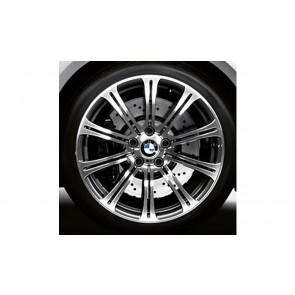 BMW Alufelge M Doppelspeiche 220 9,5J x 19 ET 23 Weiß Hinterachse BMW 3er E92 E93