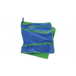 BMW Athletics Sporthandtuch royalblau/grün