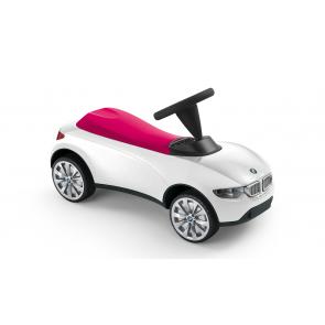 BMW Baby Racer III weiß/himbeerrot