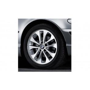 BMW Kompletträder Doppelspeiche 98 17 Zoll Silber 1er E87 3er E46