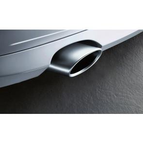 BMW Endrohrblende Alu-Look X3 F25 X4 F26