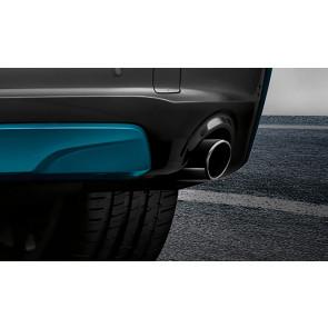 BMW Endrohrblende schwarzchrom 5er F07 F10 F11 7er F01