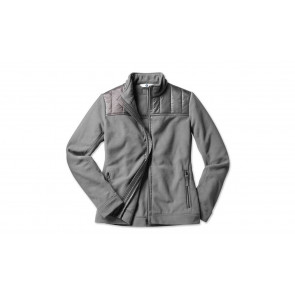 BMW Damen Fleecejacke space grey